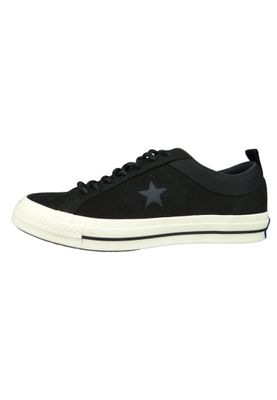 Converse Chucks 162545C Schwarz Leder One Star OX Black Almost Black – Bild 2