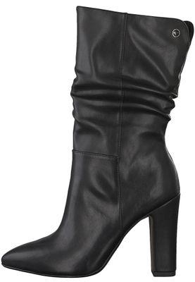 Tamaris Trend 1-25320-21 020 Damen Black Matt Schwarz Stiefel – Bild 3