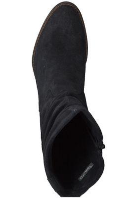 Tamaris 1-25472-21 001 Damen Black Schwarz Leder Stiefel – Bild 5