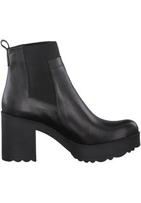 Tamaris 1-25463-21 001 Women's Black Black Leather Ankle Boot in Chelsea Boot Style – Bild 2
