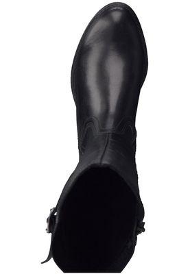 Tamaris 1-25511-21 001 Damen Black Schwarz Stiefel Langschaftstiefel mit TOUCH-IT Sohle und Stretch Schaft – Bild 6