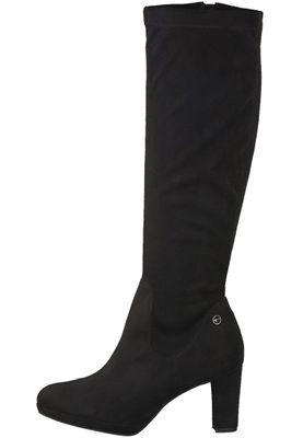 Tamaris 1-25522-21 001 Damen Black Schwarz Stiefel Langschaftstiefel mit TOUCH-IT Sohle und Stretch Schaft – Bild 3