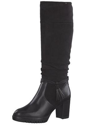 Tamaris 1-25551-21 001 Damen Black Schwarz Stiefel Westernstiefel mit TOUCH-IT Sohle – Bild 1