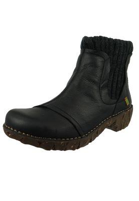El Naturalista Shoes Women Ankle Boots NE23 YGGDRASIL Black Black – Bild 1