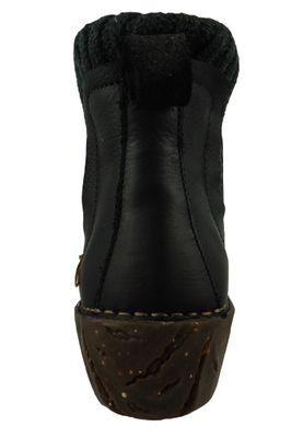 El Naturalista Shoes Women Ankle Boots NE23 YGGDRASIL Black Black – Bild 3