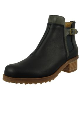 El Naturalista Shoes Women's Ankle Boots N5112 Kentia Black Black – Bild 1