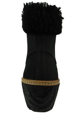 El Naturalista Shoes Women Wedge Ankle Boots N5139 MYTH YGGDRASIL Black Black – Bild 4