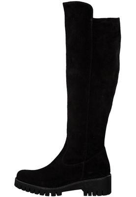 Tamaris 1-25613-21 001 Damen Black Schwarz Leder Stiefel mit TOUCH-IT Sohle – Bild 3