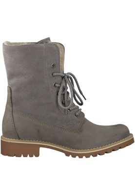 Tamaris 1-26443-21 254 Damen Light Grey Grau Schnürstiefelette Lace-Up Boots mit Warmlining und Primaloft – Bild 2