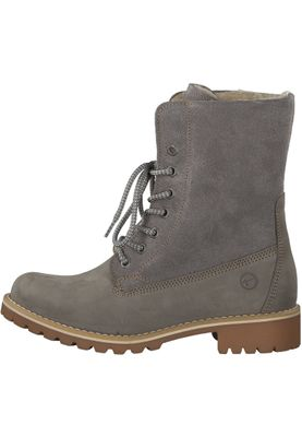 Tamaris 1-26443-21 254 Damen Light Grey Grau Schnürstiefelette Lace-Up Boots mit Warmlining und Primaloft – Bild 3