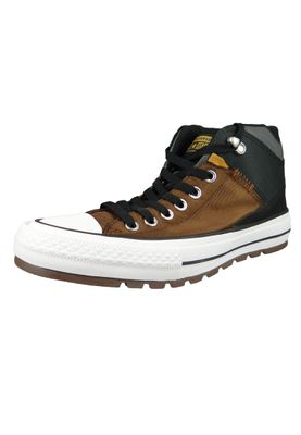 Converse Chucks 161469C Braun CHUCK TAYLOR ALL STAR Street Boot HI Chestnutz Brown Black – Bild 1