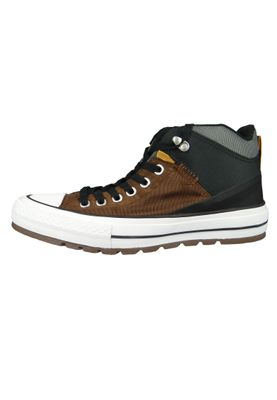 Converse Chucks 161469C Braun CHUCK TAYLOR ALL STAR Street Boot HI Chestnutz Brown Black – Bild 2