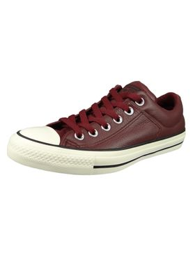 Converse Chucks 161502C Weinrot CHUCK TAYLOR ALL STAR OX Dark Burgundy Egret Black – Bild 1