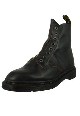 Dr. Martens 1460 24555001 Damen Laceless Vintage Smooth Black Schwarz – Bild 1