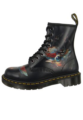 Dr. Martens 1460 24875102 Damen Rick Griffin Eye Backhand Black Schwarz 8-Loch – Bild 2