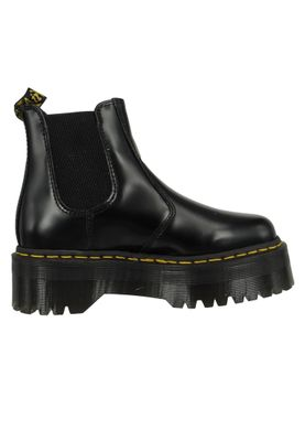 Dr. Martens 2976 24687001 Damen Quad Retro Polished Smooth Black Schwarz Chelsea Boot – Bild 4