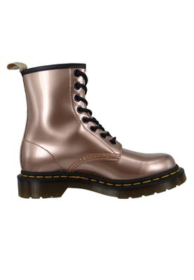 Dr. Martens 1460 24865716 Damen Vegan Rose Gold Chrome Paint Metallic Rosa 8-Loch – Bild 4