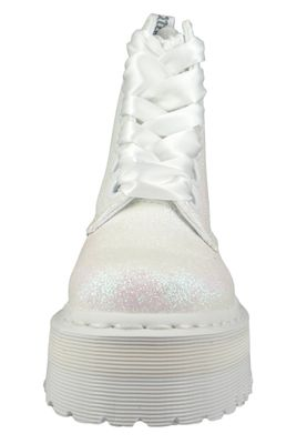 Dr. Martens Quad Retro Molly Glitter 24860123 Damen Iridescent White Weiß Ankle Boot – Bild 6