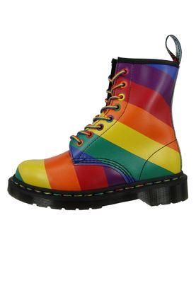 Dr. Martens 1460 24877102 Damen Pride Backhand Multi Rainbow Mehrfarbig 8-Loch – Bild 3