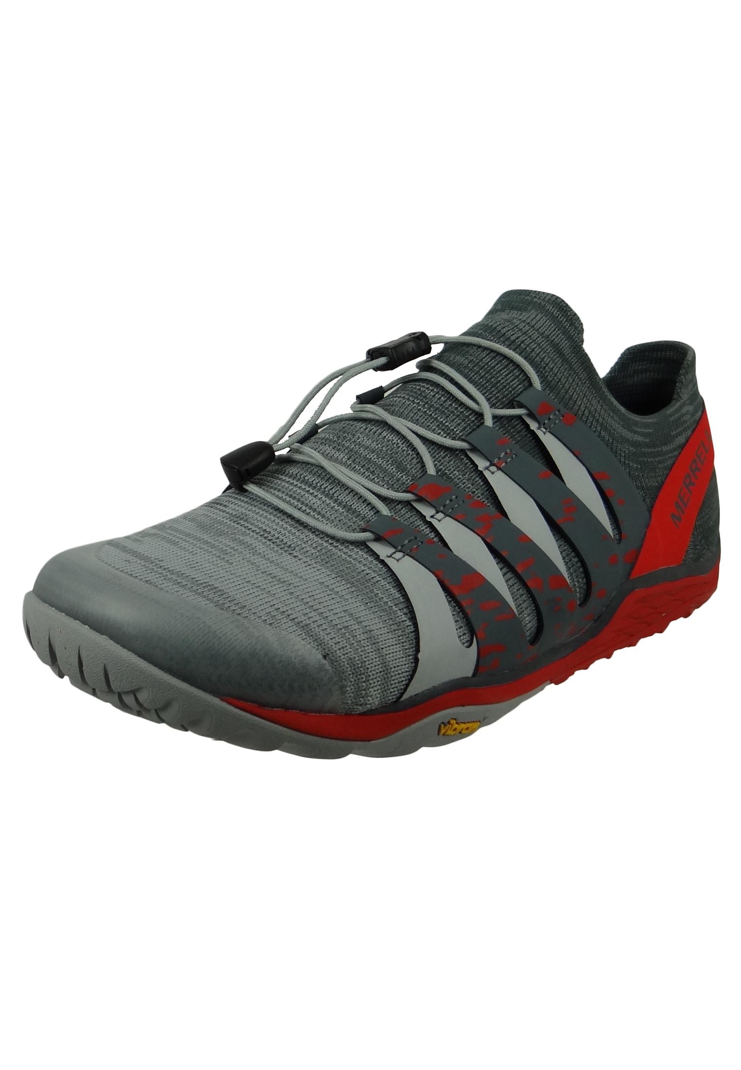 Merrell Trail Glove 5 3D J48883 Herren High Rise Grau Trail Running Barefoot Run