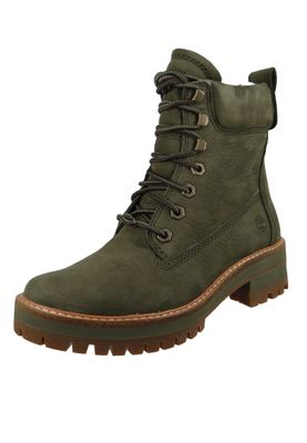 Timberland Damen Stiefelette Courmayeur Valley Boot Leder Olive Night CA1TYW  – Bild 1