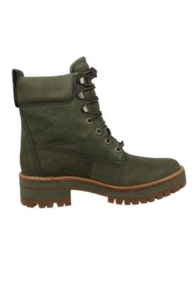 Timberland Damen Stiefelette Courmayeur Valley Boot Leder Olive Night CA1TYW  – Bild 4