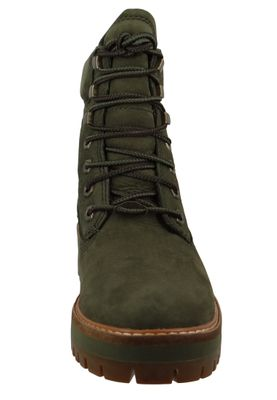 Timberland Damen Stiefelette Courmayeur Valley Boot Leder Olive Night CA1TYW  – Bild 3