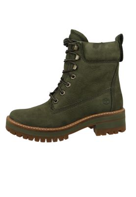Timberland Damen Stiefelette Courmayeur Valley Boot Leder Olive Night CA1TYW  – Bild 2
