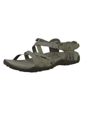 Merrell Terran Lattice II J02766 Damen Sandale Taupe Grau Sandale – Bild 2