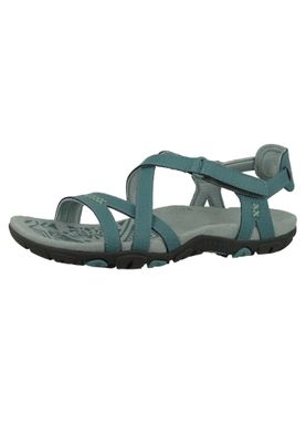 Merrell Sandspur Rose Leather J90580 Damen Blue Smoke Blau Sandale – Bild 1