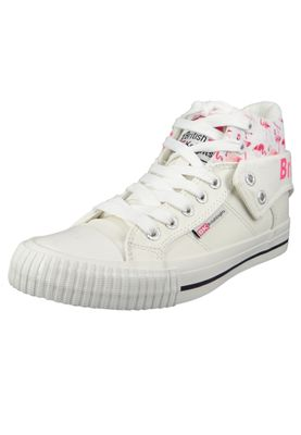 British Knights Sneaker B43-3704-01 White Pink Flamingo Weiss – Bild 1
