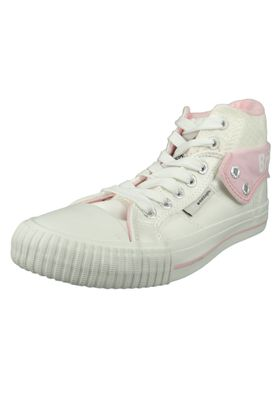 British Knights Sneaker B43-3709-02 White Pink Flower Weiss – Bild 1