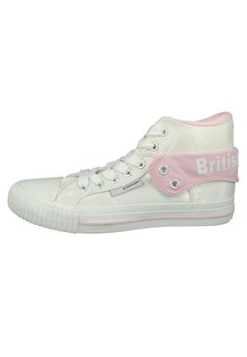 British Knights Sneaker B43-3709-02 White Pink Flower Weiss – Bild 3