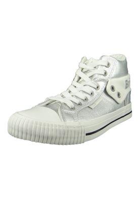 British Knights Sneaker B43-3706-01 Roco Silber Silver Metallic – Bild 1