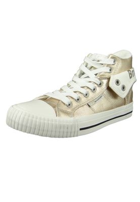 British Knights Sneaker B43-3706-03 Roco Silber Gold Metallic – Bild 1