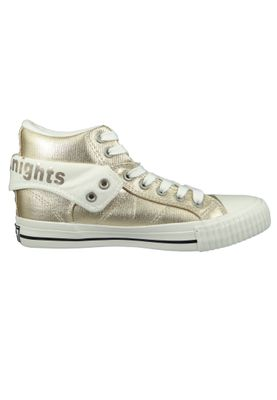 British Knights Sneaker B43-3706-03 Roco Silber Gold Metallic – Bild 2