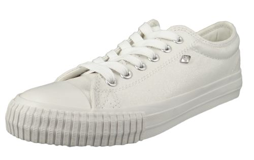 British Knights BK Sneakers B41-3725-15 Women's Master-LO Canvas Off White Rose Gold – Bild 1