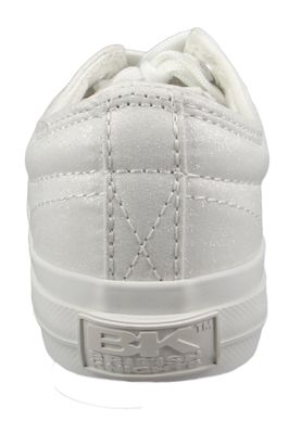 British Knights BK Sneaker B43-3719-01 Damen Master-LO Canvas White Weiss – Bild 3
