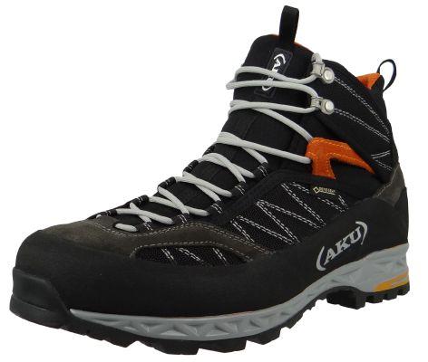 AKU Wanderschuhe Trekking 975-108 Tengu Lite GTX Black Orange Schwarz – Bild 1