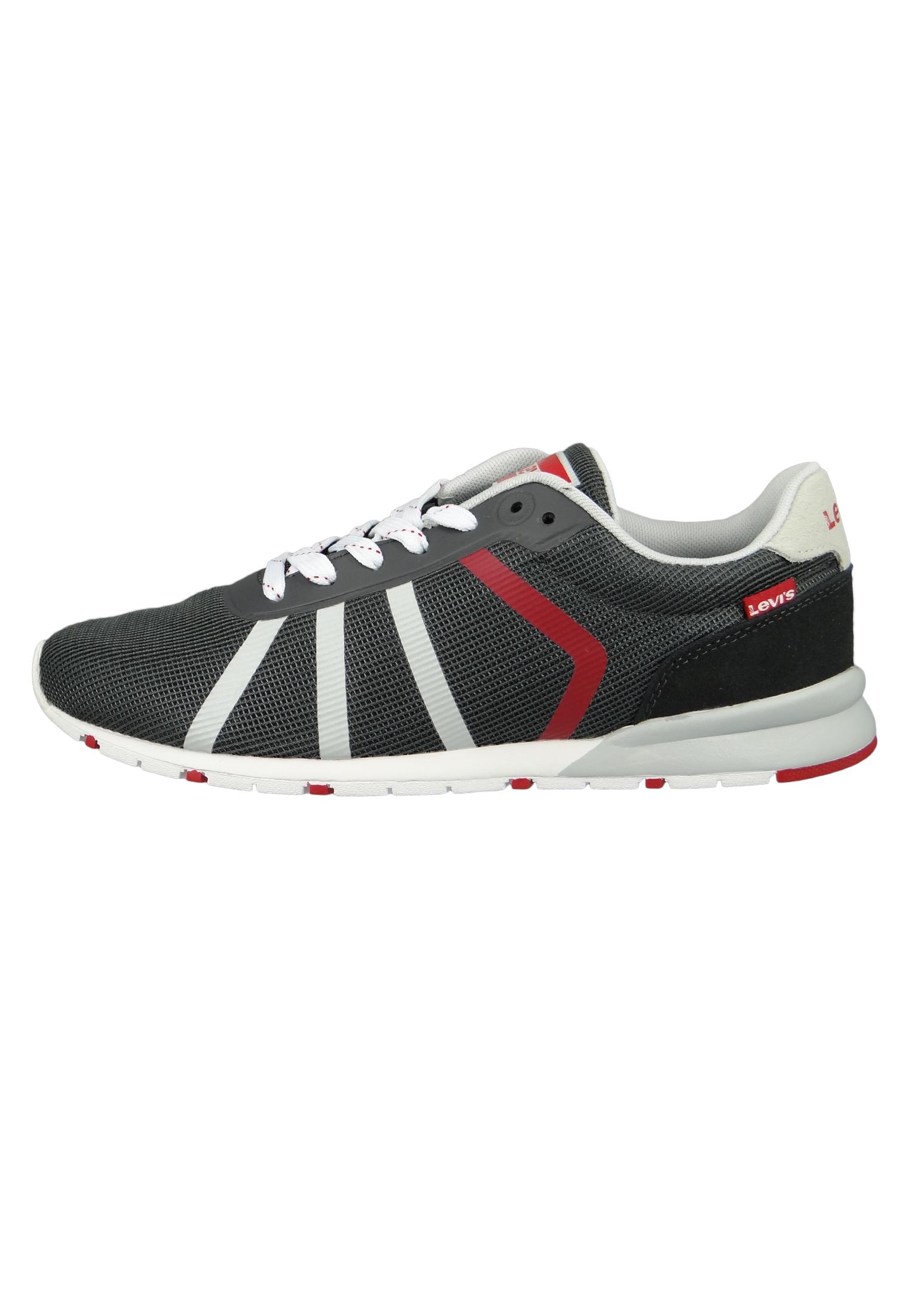61e6bdea9 Levis Almayer Lite 227799-780-58 Herren Sneaker Dull Grey Grau – Bild 2
