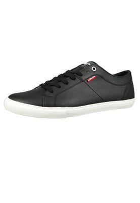 Levis Woods 225826-794-59 Herren Sneaker Regular Black Schwarz – Bild 1