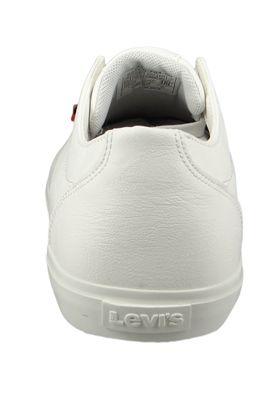 Levis Woods 225826-794-50 Herren Sneaker White Weiß – Bild 3