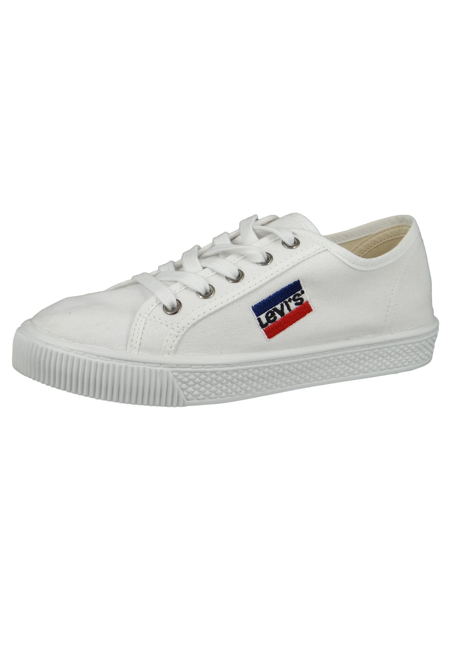 Levis Malibu Sportswear S 228719 733 50 Damen Sneaker Brilliant White Weiss