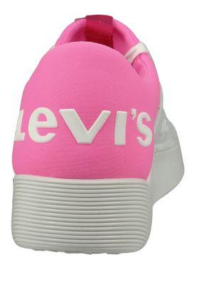 Levis Mullet S 230088-931-45 Damen Sneaker Regular Fuchsia Weiß Pink – Bild 3