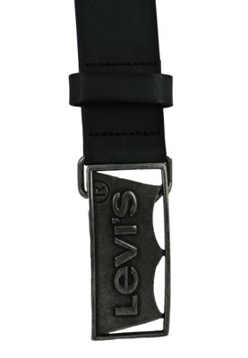Levis Batwing Plaque 230007-4-59 Gürtel Ledergürtel Regular Black Schwarz – Bild 5