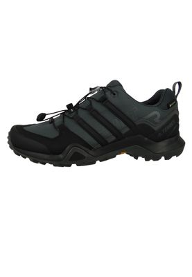 adidas TERREX SWIFT R2 GTX BC0383 Herren Outdoor Hikingschuhe grey six/core black/grey four Grau/Schwarz – Bild 2