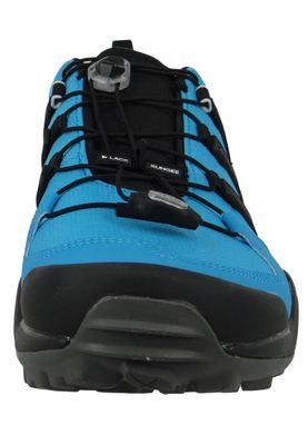 adidas TERREX SWIFT R2 G28409 Herren Outdoor Hikingschuhe shock cyan/core black/active red Blau – Bild 5