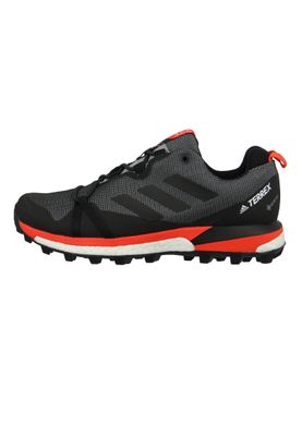 adidas TERREX SKYCHASER LT GTX F36101 Herren Trailrunning Hiking grey three/core black/active orange Schwarz – Bild 2