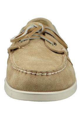 Sebago 7000G90 906 Docksides Portland Suede Herren Bootsschuhe Beige Camel – Bild 5