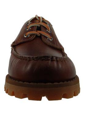 Sebago 70015M0 922 Acadia Herren Schnürschuhe Brown Cinnamon Braun – Bild 5